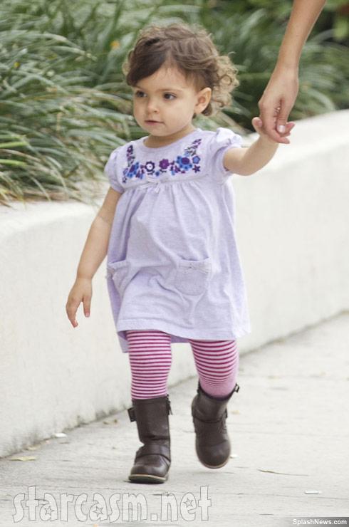 Teen Mom Farrah Abraham's daughter Sophia Abraham in Fort Lauderdale Florida