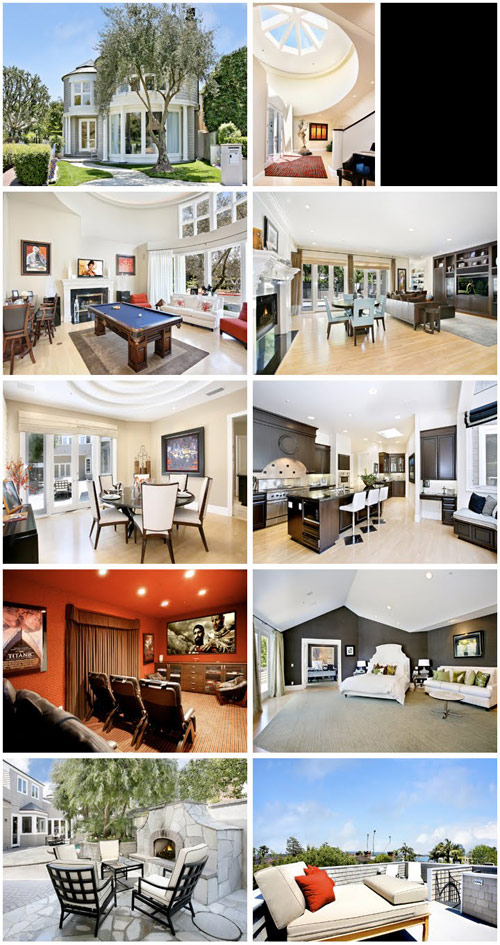 Alexis Bellino and Jim Bellino's Newport Beach foreclosure property at 2672 Circle Dr