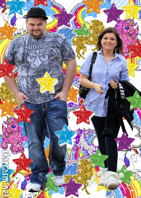 Teen Mom Amber Portwood and Gary Shirley cornified