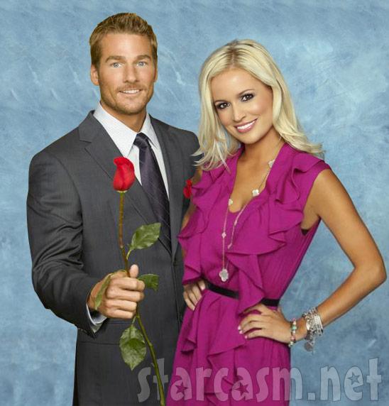The Bachelor Brad Womack and fiancee Emily Maynard