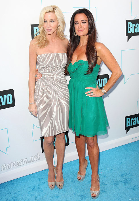 Camille Grammer and Kyle Richards from The Real Housewives of Beverly Hills
