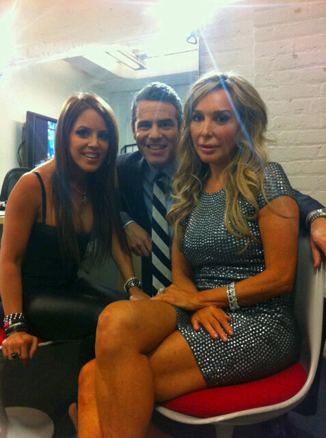 Cristy Rice Andy Cohen and Marysol Patton from Watch What Happens Live