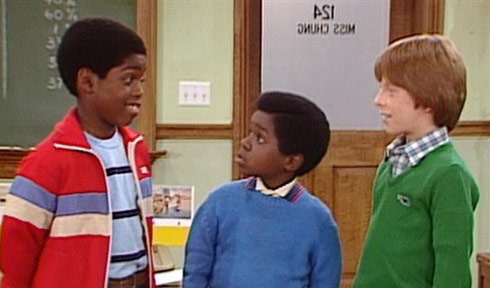 Arnold's friend Dudley played by Shavar Ross on Diff'rent Strokes