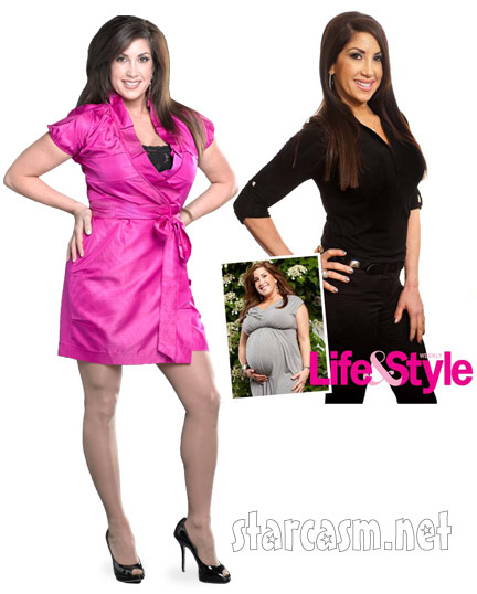 Real housewives of New Jersey's Jacqueline Laurita weight loss before and after picture