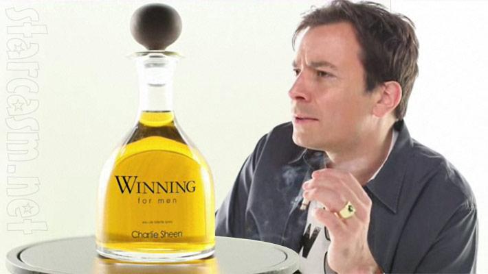 Jimmy Fallon commercial for Winning for Men by Charlie Sheen cologne