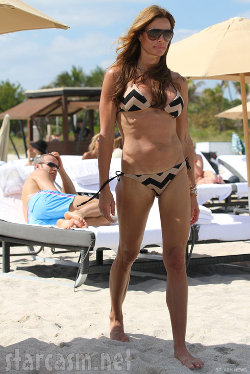 Real Housewives of New York City Kelly Bensimon bikini picture