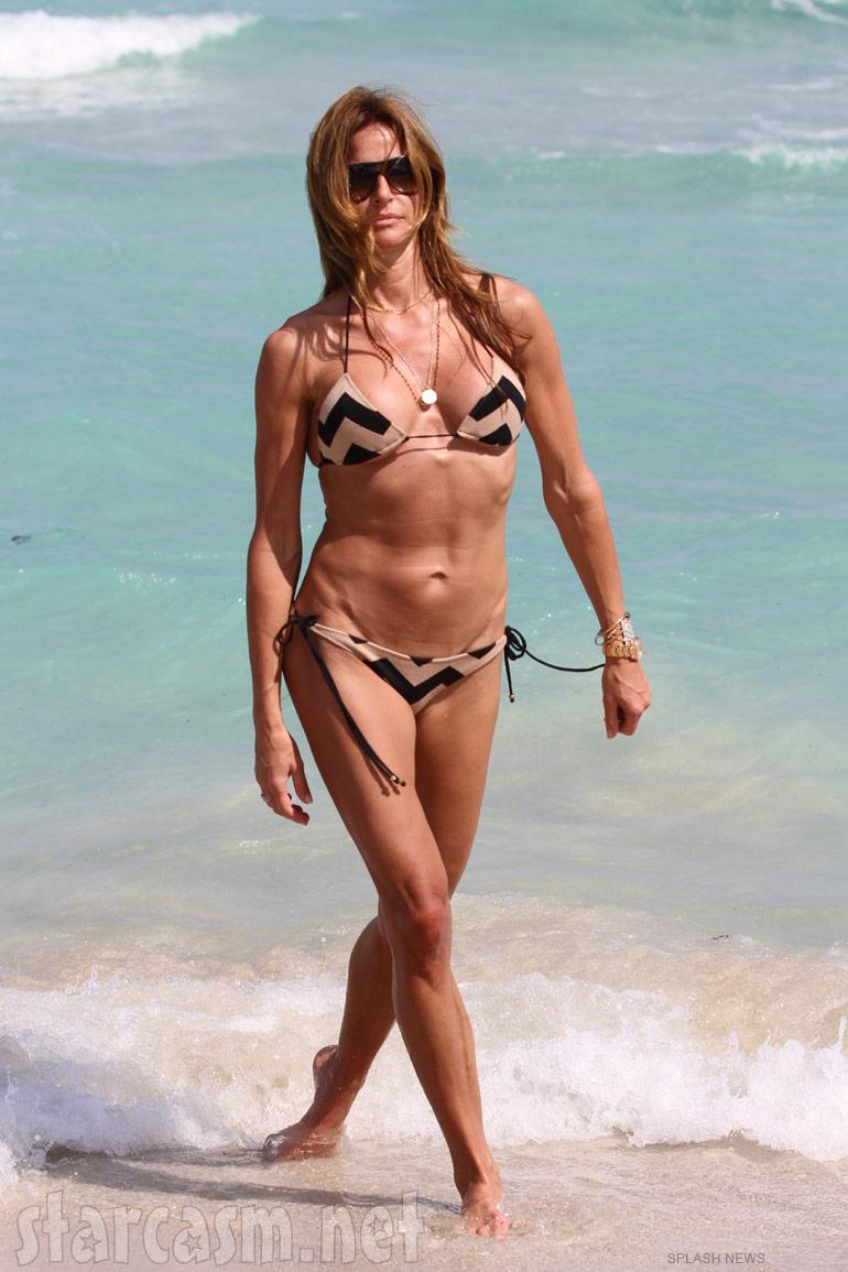 Kelly Bensimon bikini photo