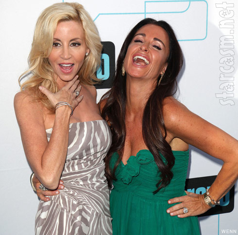 Camille Grammer and Kyle Richards appear to have made up