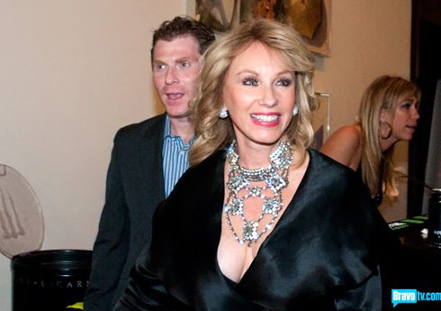 Real Housewives of Miami star Lea Black at her annual gala