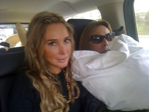 Marysol and Elsa Patton on their road trip from Miami to NYC for WWHL!