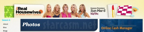 Real Housewives of Orange County banner minus Fernanda Rocha from March 6 2011