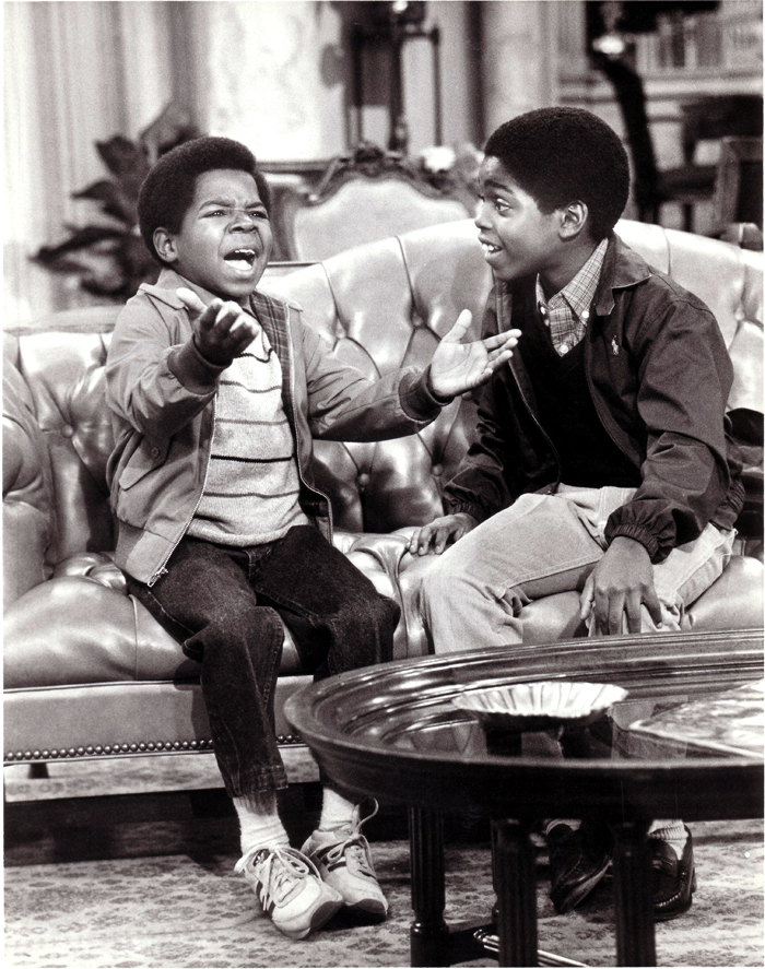 Gary Coleman as Arnold and Shavar Ross as Dudley on Diff-rent Strokes