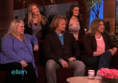 TLC's Sister Wives and patriarch Kody Brown on Ellen