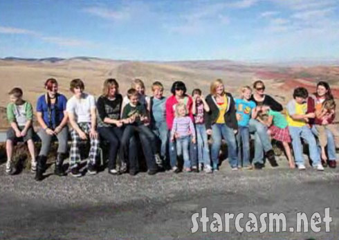 TLC's Sister Wives and all 16 children of the Brown family