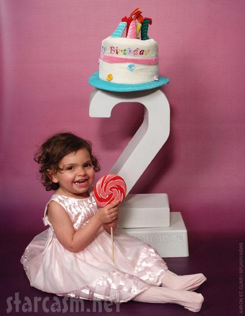 Farrah Abraham's daughter Sophia on her second birthday