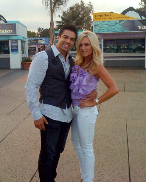 Tamra Barney and new boyfriend Eddie Judge