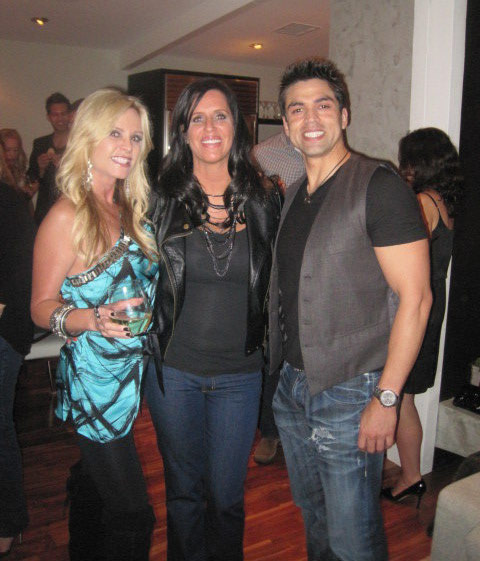 Tamra Barney, Millionaire Matchmaker Patty Stanger and Tamra's new boyfriend Eddie Judge