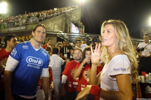Tom Brady and Gisele Bundchen advertise for Proctor & Gamble
