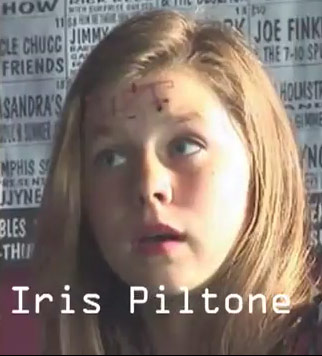"Alana Lee Hamilton close-up as Iris Pilton in ""The Incybers"""