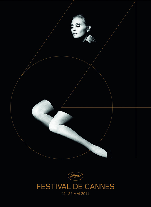 64th Cannes Film Festival poster featuring Faye Dunaway