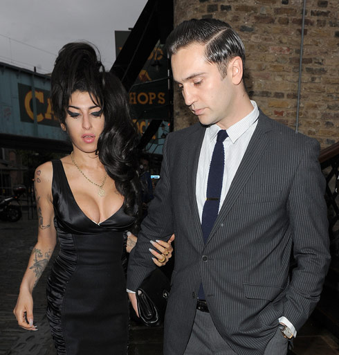 Amy Winehouse and Regg Travis