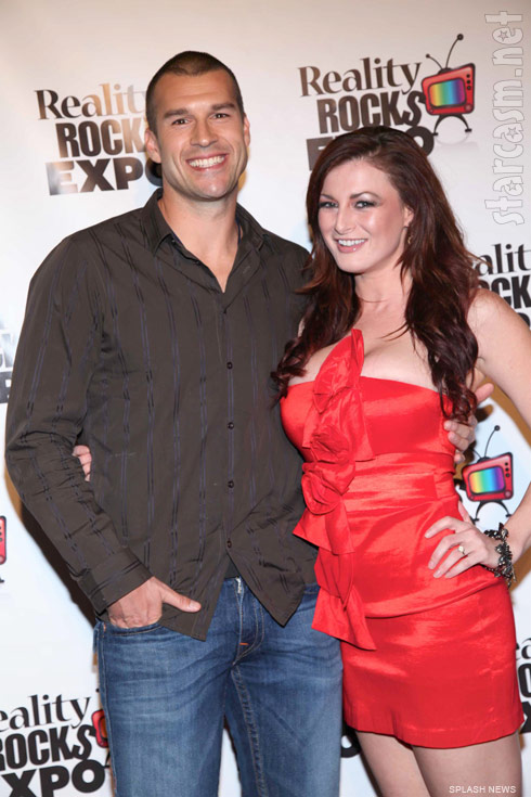 Big Brother Rachel Reilly and Brendon Villegas at Reality Rocks Expo 2011