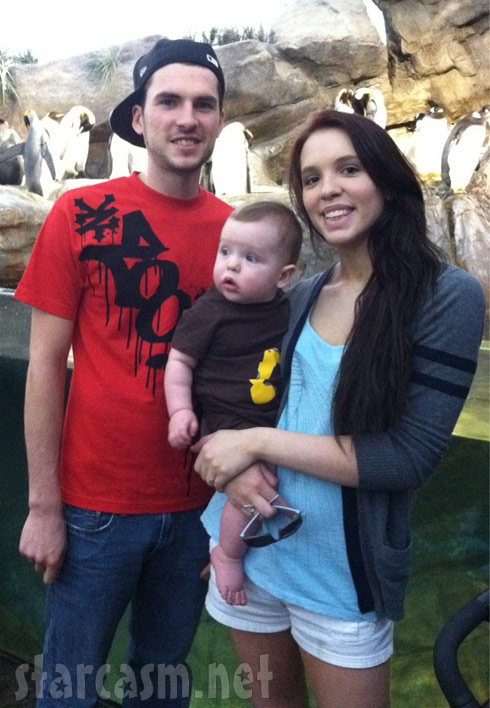 16 and Pregnant Season 3 family Jordan Ward, Brian Finder and son Noah