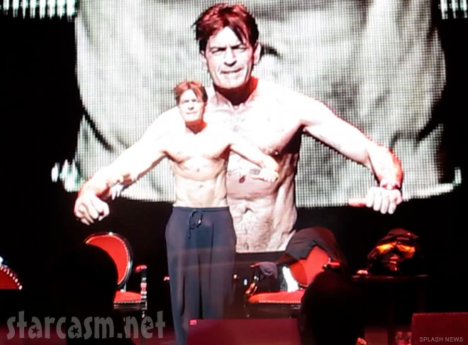 Charlie Sheen My Violent Torpedo of Truth/Defeat is Not an Option Show