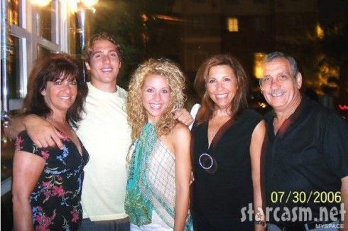 Dino Tzortzis with his sister Maria, mom Elleni, father Dimitri and a family friend