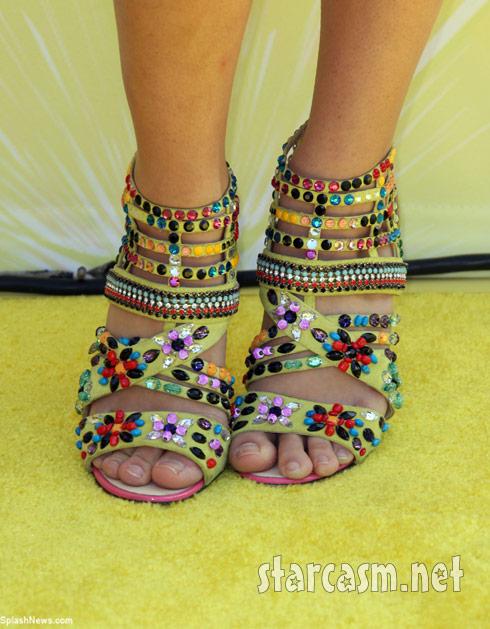 Hayley Kiyoko rocked amazing Giuseppe Zanotti heels at the Lemonade Mouthe premiere