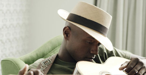 Javier Colon is part of Adam Levine's team on The Voice
