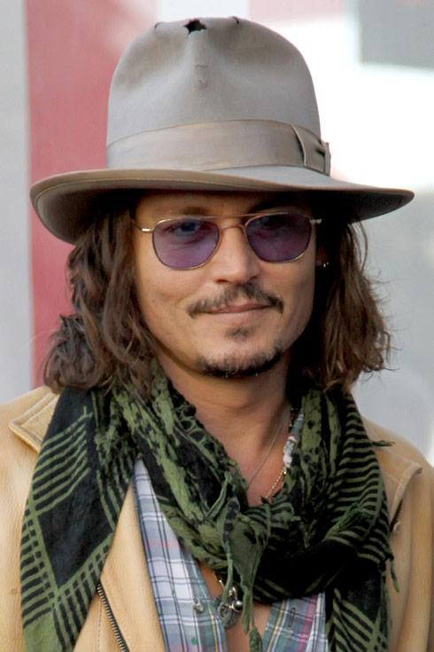 Johnny Depp file photo