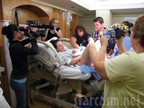 16 and Pregnant filming Jordan Ward giving birth to Noah