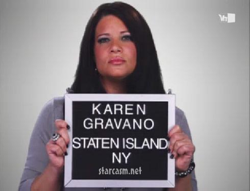 "Karen Gravano of VH1's Mob Wives daughter of Sammy ""The Bull"" Gravano"