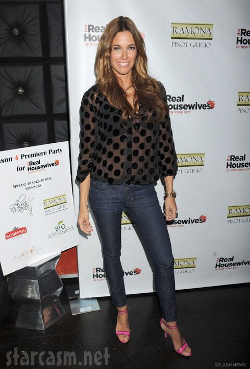 Kelly Bensimon at the Real Housewives of New York City Season 4 Premiere Party