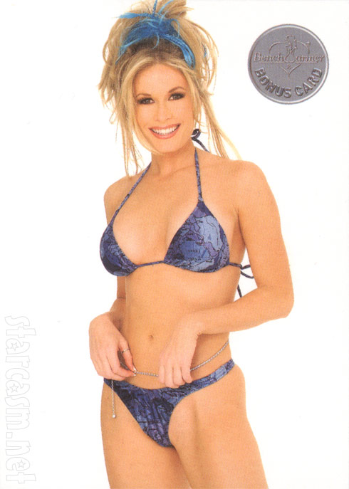 Peggy Tanous as Peggy Tyler on 2002 Bench Warmer Bonus Card