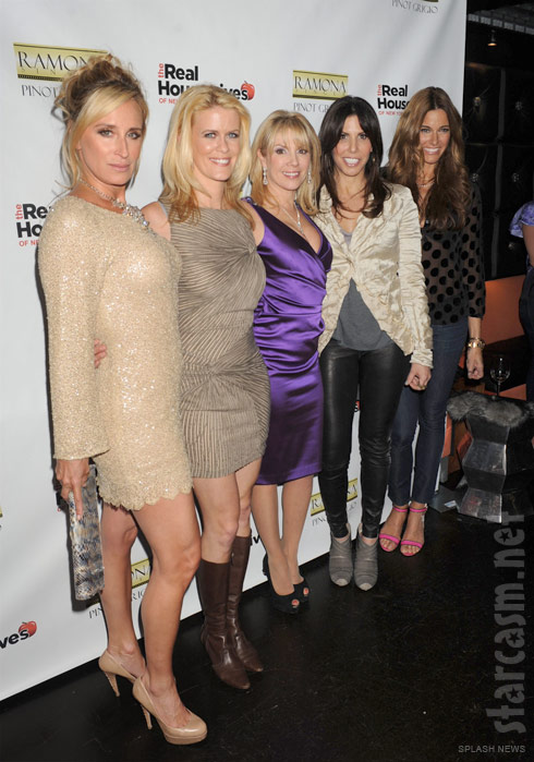 Sonja, Alex, Ramona, Cindy and Kelly at the RHONYC Season 4 Premiere Party