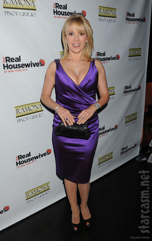 Ramona Singer at the Real Housewives of New York City Season 4 Premiere Party