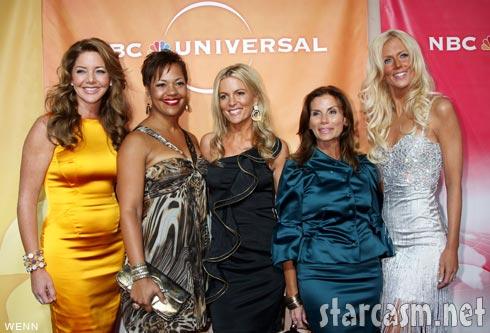 Mary Amos, Stacie Turner, Cat Ommanney, Lynda Erkiletian and Michaele Salahi