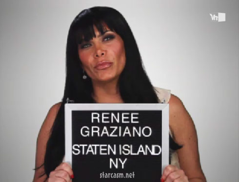 Renee Graziano from VH1's Mob Wives
