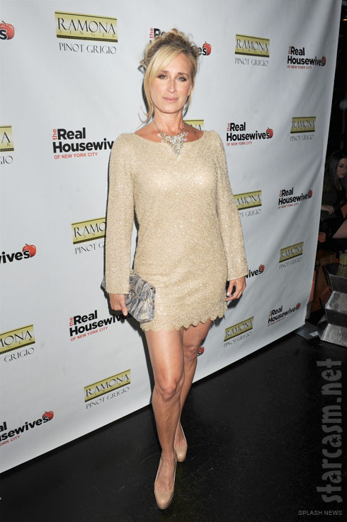 Sonja Morgan at the Real Housewives of New York City Season 4 Premiere Party