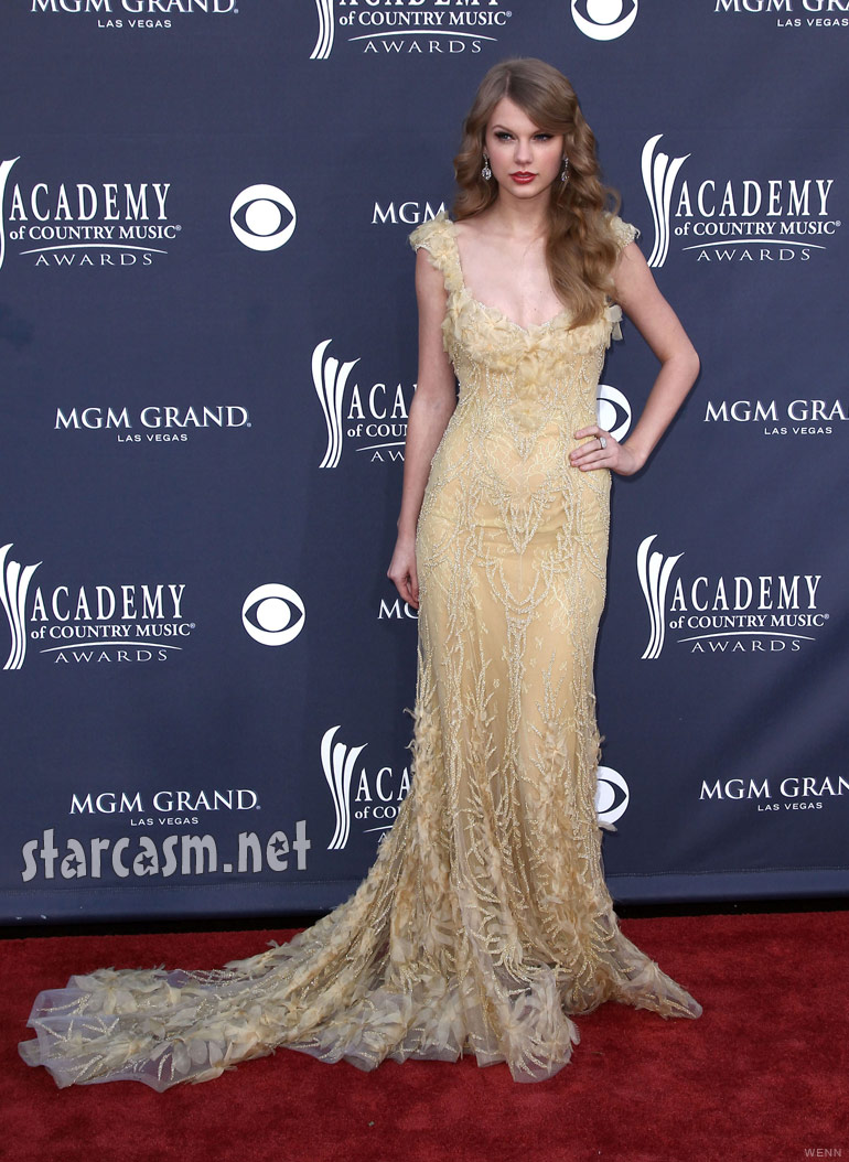 Photos Taylor Swift 2011 Academy Of Country Music Awards