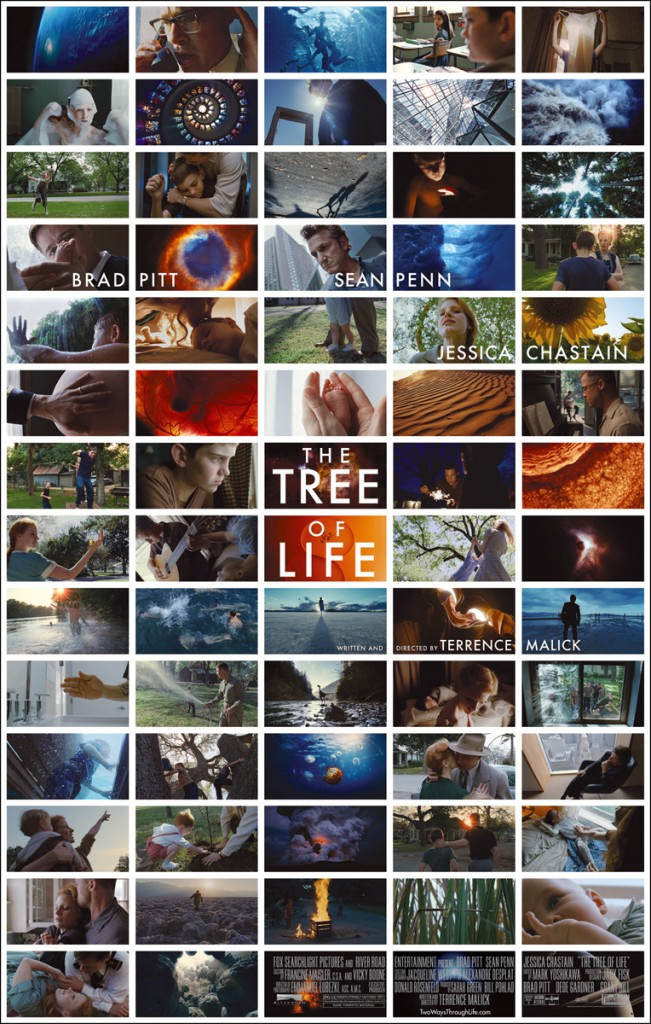 Movie poster for The Tree of Life directed by Terrence Malick