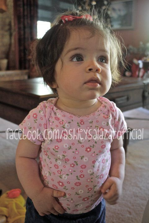 Callie, daughter of Ashley Salazar from 16 and Pregnant