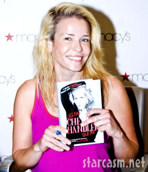Chelsea Handler in Chicago signing copies of Lies Chelsea Handler Told Me