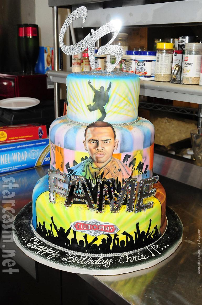 Miraculous Photos Chris Brown Celebrates 22Nd Birthday With Lil Wayne Hip Personalised Birthday Cards Petedlily Jamesorg