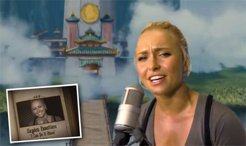 Hayden Panettiere music video for I Can Do It Alone from Hoodwinked Too