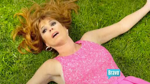 Jill Zarin in Summer Camp by Bravo commercial