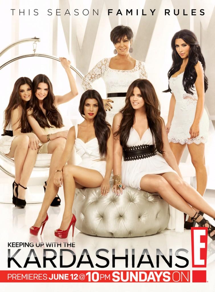 """KUWTK Season 6 This Season Family Rules """"White Hot"""" promo photo"""