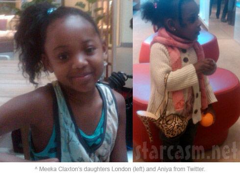 Meeka Claxton's daughters London Claxton and Aniya Claxton